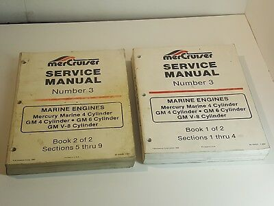 MERCRUISER # 3 Engines Workshop Service Manual 4 6 8 Cylinder