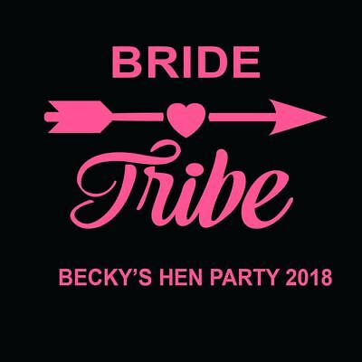 Mother Of The Bride Hen Party Do Iron On T Shirt Transfer Personalised Vinyl