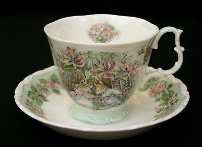 Royal Doulton Brambly Hedge - Cup & Saucer - Summer - England - Excellent