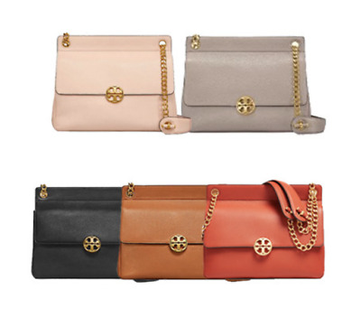 TORY BURCH Chelsea Flap Shoulder Bag 48730 with Free Gift & Free Shipping