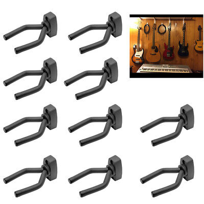 New Guitar Wall Hanger Mount Hook Bracket Electric Display Bass Acoustic Holder