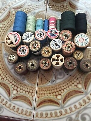 Assorted reels, thread, cotton, sewing ,Job lot.