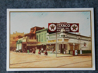Texaco Motor Oil Birthday Card    El Dorado, Ks