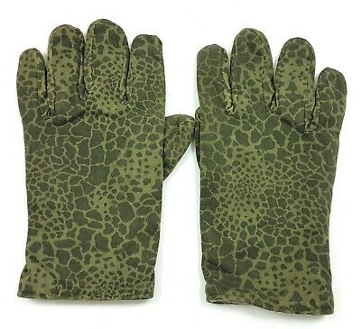 AUTHENTIC MILITARY WINTER GLOVES POLISH ARMY WOODLAND CAMOUFLAGE PUMA wz89