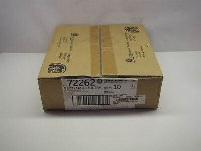 Case of 10 NEW GE High Efficiency Electronic Ballasts GE232MAX-L/ULTRA 72262