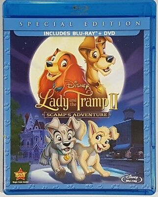 Lady and the Tramp II: Scamps Adventure Blu-ray