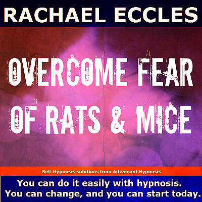 Overcome Fear of Rats & Mice Hypnotherapy CD Hypnosis