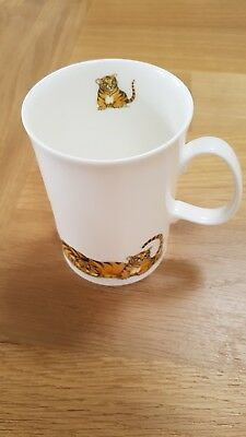 Dunoon Gentle Giants  Bone China Mug by Cherry Denman Tigers