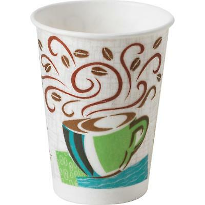 Dixie Perfectouch® 8Oz Insulated Paper Hot Cups, Disposable Coffee Cups, Coffee