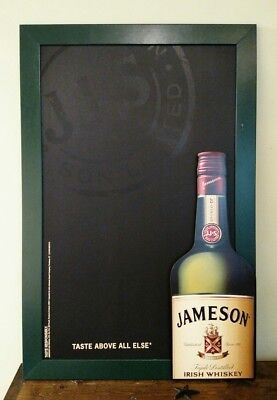 "JAMESON Irish Whiskey Sign Advertising Chalkboard Bar Pub MAN CAVE 24"" by 36"""