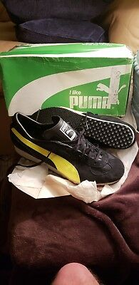 Vintage Puma Tour G Super Shoe Size 9 1/2 New In Box Made In West Germany
