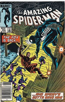 Amazing Spider-Man #265 Very Fine 8.0  1St App Silver Sable 1985 New Sony Movie