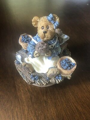 Resin Boyds Bear Candle Lid