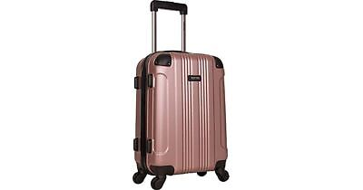 "NEW-Kenneth Cole Reaction Out Of Bounds 20"" Hardside Spinner Luggage - Rose Gold"