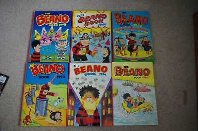Job Lot Beano Annuals x10
