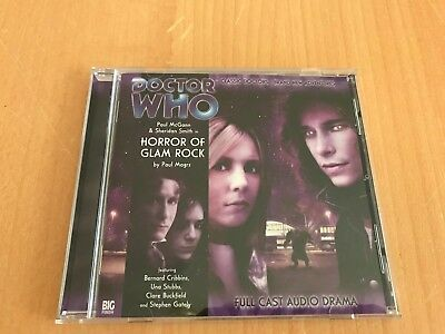 Dr Who BBC Big Finish CD - HORROR OF GLAM ROCK - Eighth Doctor Audio Adventures