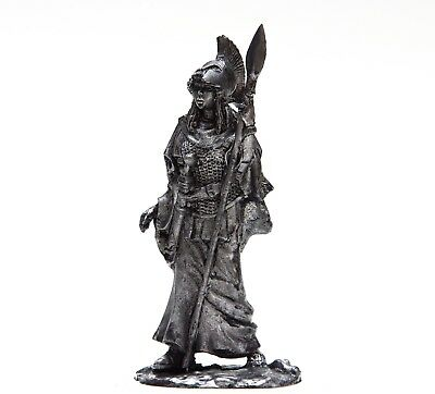 HISTORICAL TIN FIGURES VIKINGS VALKYRIE OPTING KILLED ASSISTANT OF ODIN 75MM FI6