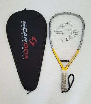 Gearbox Gb125 170G Racquetball Racquet With Case