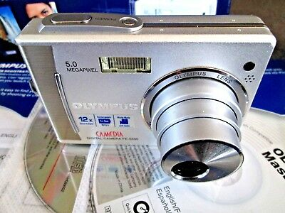 Olympus Camedia FE-5500 Rechargeable Digital Camera, Boxed, Complete