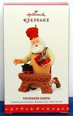 2016 Hallmark Toymaker Santa Claus Train Christmas Ornament Series #17