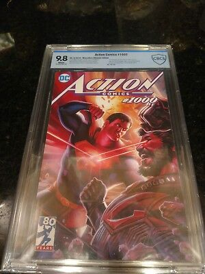 Action Comics 1000 Cbcs Ultimate Edition Limited To 250 Copies