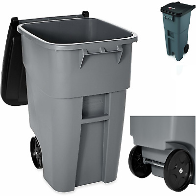 Outdoor Trash Can With Wheels Enchanting 60 GALLON OUTDOOR Trash Can With Wheels And Lid Rolling Container