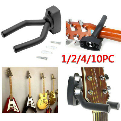 Padded Guitar Display Wall Hanger Bracket Hook Bass/Electric/Acoustic/Ukelele