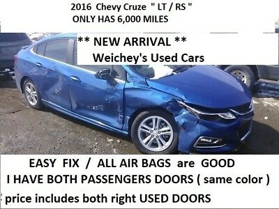2016 Chevrolet Cruze RS package