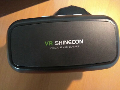 VR SHINECON 3D IMAX Glasses Brille + Kabellos Bluetooth Gamepad Virtual Reality