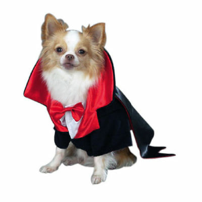 Casual Canine Dogicula Dracula Pet Dog Halloween Costume Small Free Shipping