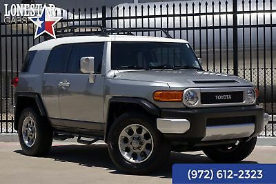 Toyota FJ Cruiser Conveinence Package 2012 Silver  Conveinence Package!