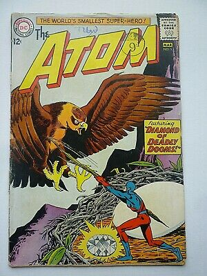 The Atom 5 1963 DC Comics Silver Age