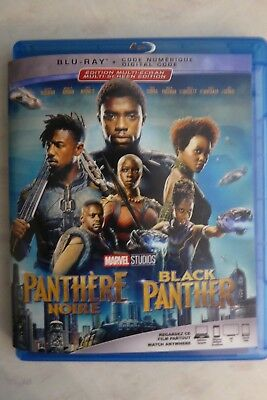 Black Panther / Panthere noire (Blu-Ray + digital 2018)