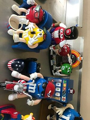 12 M&M candy dispensers