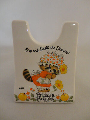Britches 'n Bloomers Raccoon Recipe Holder Spoon Rest