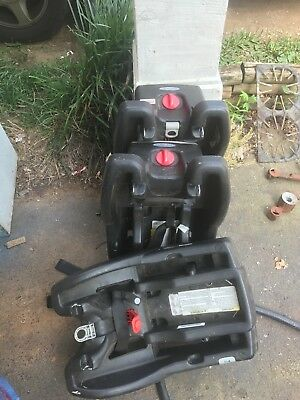 3 graco click conect bases all in great shape and still in date.