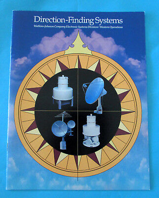 Collectible Cold War Vintage 1994 WATKINS JOHNSON Direction-Finding Systems