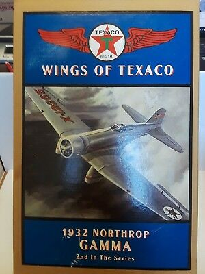 TEXACO Wings of Texaco 1932 Northrop Gamma Airplane Coin Bank -2nd in The Series