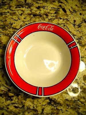 "1996 Coca Cola Company Coke Logo 8"" Collectors Cereal Soup Bowl Gibson Houseware"