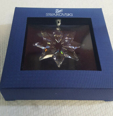 Swarovski 2013 Christmas Little Star Ornament Annual Edition #5004490  *NIB*