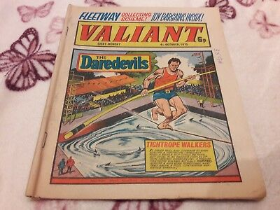 Valiant Comic. 4Th October 1975 Ipc Magazines Ltd. 6P.