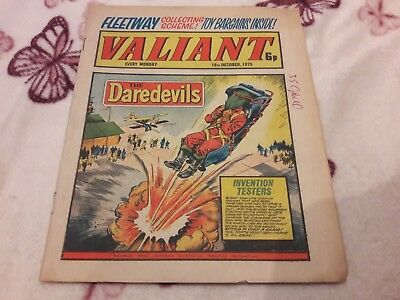 Valiant Comic. 18Th October 1975. Ipc Magazines Ltd. 6P.