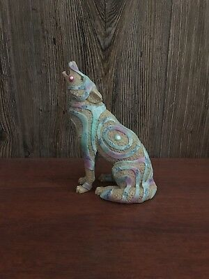"Call of the Wolf Westland Giftware ""Stone Magic Wolf"""