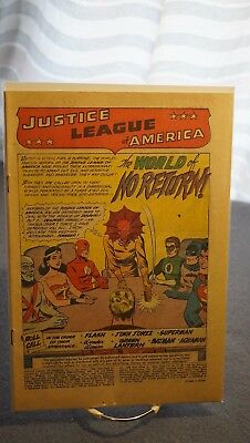 Coverless Justice League Of America #1 - Complete - Great Shape Otherwise!