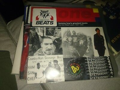 Tommy Boy's Greatest Beats The First Fifteen Years 1981- 1996 4LP Very rare
