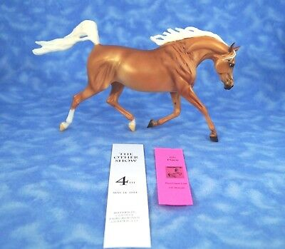 Breyer Sunny Weather Girl Treasure Hunt Trotting Arabian Mare Palomino 1463