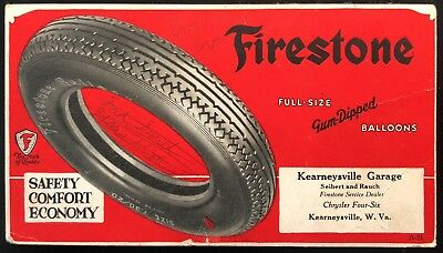 Firestone Ink Blotter Kearneysville Garage Kearneysville West Virginia