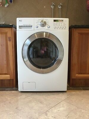LG WD1290RD All-in-One Front Load Washer (9kg) with Dryer - Washing Machine