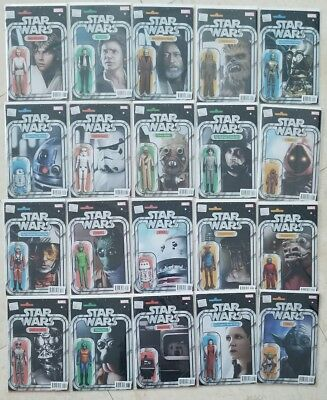 Star Wars #1 To #50 Action Figure Variant + Vader + More 70 Comics Set Lot W@@w