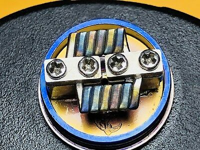 N90 Framed Staple Coil-FlavorKiller! Nichrome90 Competition Grade Cloud Chuckers
